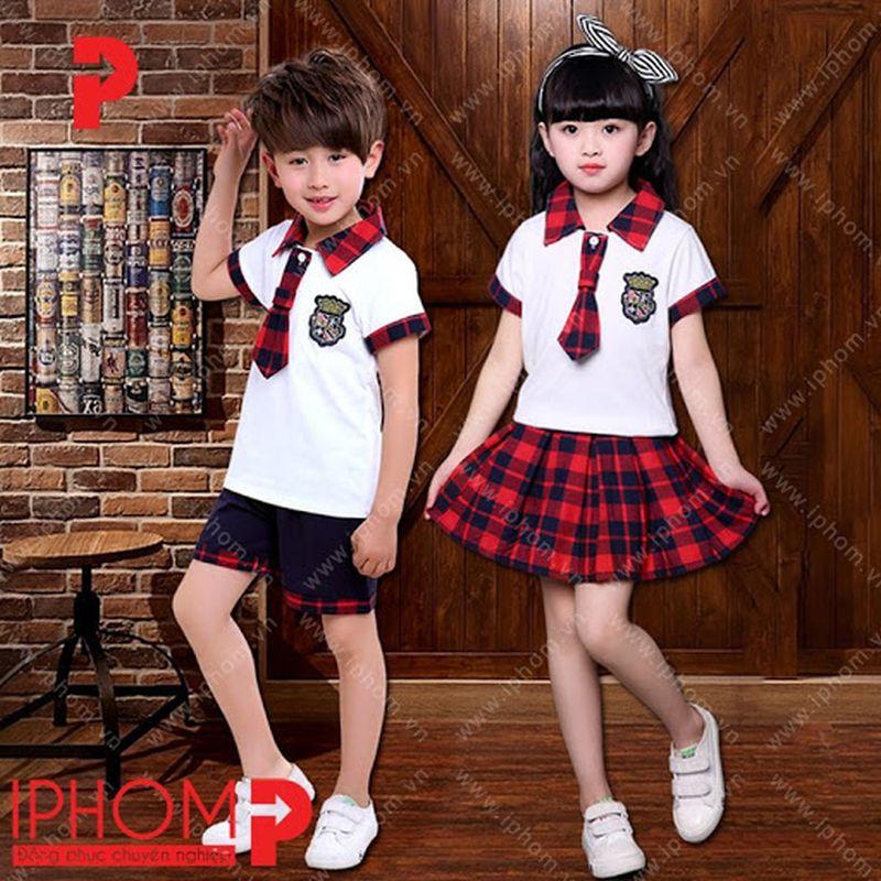 áo phông đồng phục học sinh