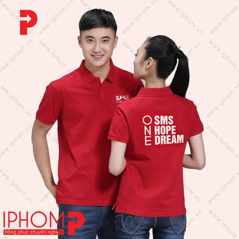 áo thun đồng phục quảng cáo iphom