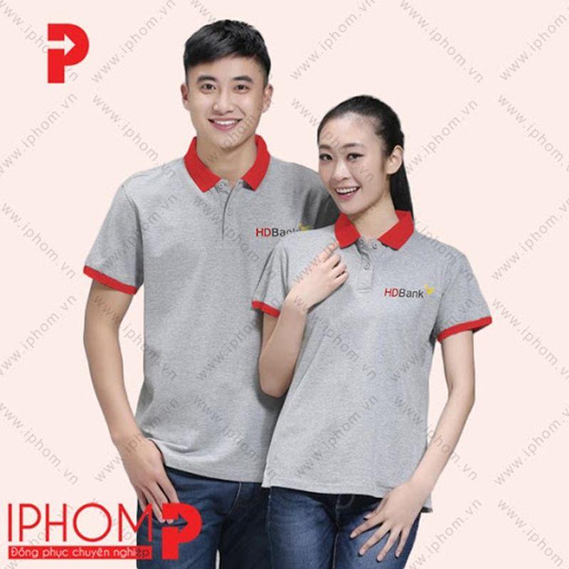áo thun đồng phục HD Bank