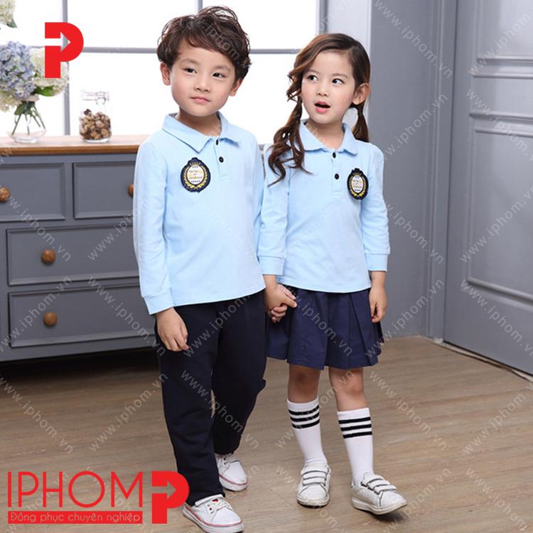 dong-phuc-hoc-sinh-ao-thun-tay-dai-iphom