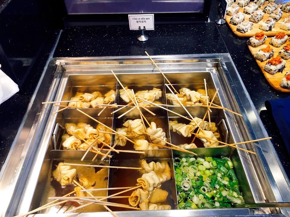 Món chả cá trứ danh của Hàn Quốc ở nhà hàng Dookki
