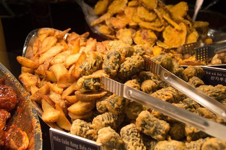 Các món ăn khác ngoài chả cá và Tteokbokki