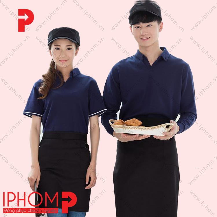 ao-thun-dong-phuc-nha-hang-mau-xanh-duong