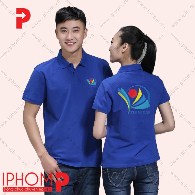 ao-thun-quang-cao-mau-xanh-duong-in-logo