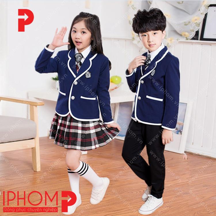 dong-phuc-hoc-sinh-cap-1-ao-vest-mua-dong