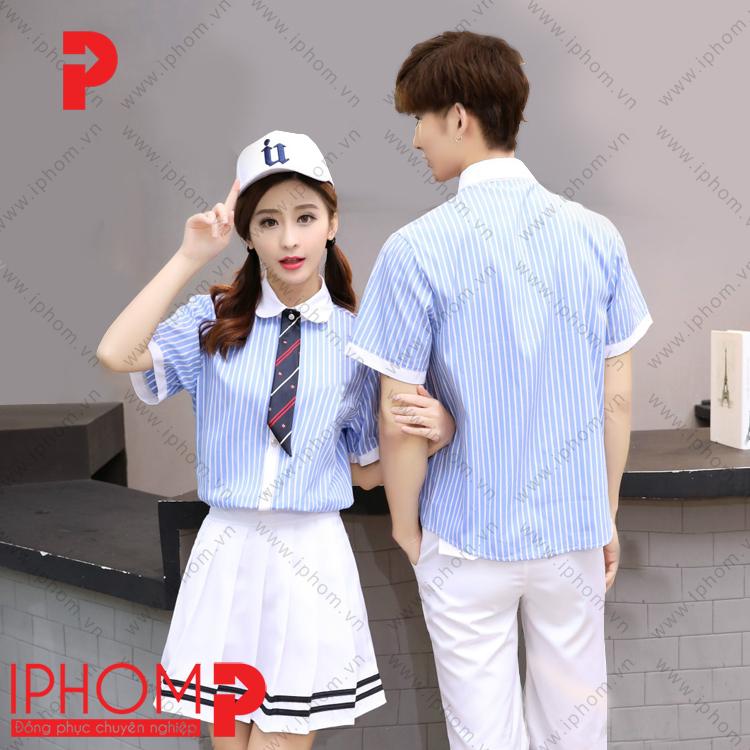 may-dong-phuc-hoc-sinh-cap-3-ao-so-mi-ke-soc