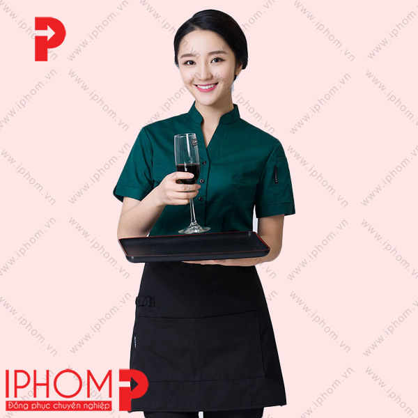ao-dong-phuc-phuc-vu-nha-hang-mau-xanh-co-vit-nu