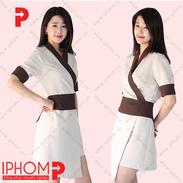 mau-dong-phuc-spa-vay-kimono-cach-tan-dep