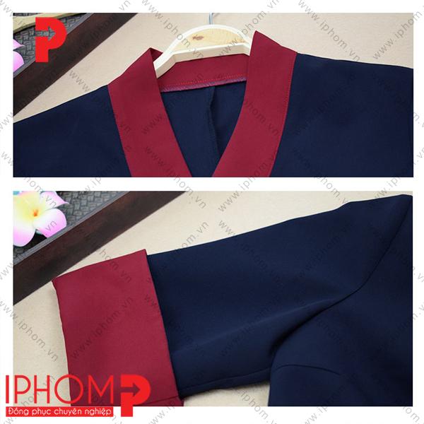 may-dong-phuc-spa-quan-ao-kimono-mau-xanh-tim-than